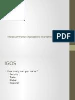 Intergoverment Organizations Cap 7 2nd Part