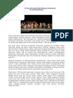 Kemajuan Yang Di Capai Oleh Negara Indonesia Sosial Budaya