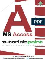 Ms Access Tutorial