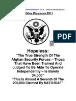 Military Resistance 8G11 Hopeless