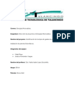 Identificacion de Gastos de Una Empresa de Instalacion.