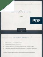 Arlington Value Capital Presentation 12.31.14i1