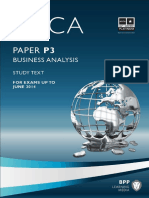 2013 BPP P3 Study Text