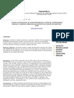 Estado Nutricional de Niños Menores de 5 Años de Comunidades Rurales y Barrios Urbanos Del Distrito de Chavín de Huántar - 2003
