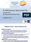 10 Plenary - Experts Pool by MEKhan 15Mar2017