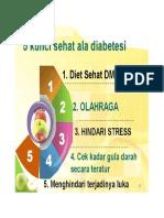 kunci sehat diabetesi