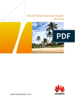 HUAWEI AR2200 Series Enterprise Routers Datasheet.pdf