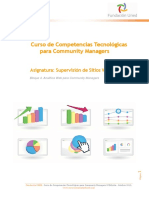 Analitica Web Para Community Managers - Material Didactico
