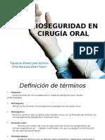 Bioseguridad en Cirugía Oral