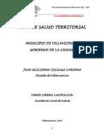 Plan de Salud Territorial Villavicencio 2012-2015
