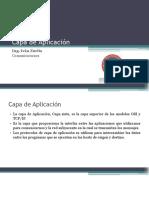 4.- Capa de Aplicación TCPIP