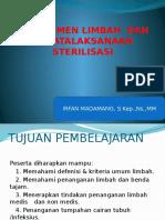 Manajemen Limbah Dan Penatalaksanaan Sterilisasi