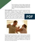 Ensayo - Violencia Intrafamiliar (Habilidades)
