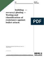 BS en 1063-2000 Security Glazing