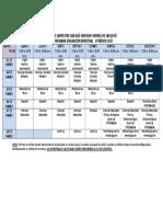 Horario Bimestrales i Periodo 2017-2
