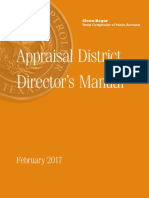 Appraisal District Director's Manual