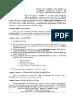 Termo de Acordo - Débora Tatiane