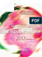 Energy Policies of Korea IEA 2016