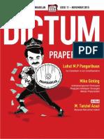 Jurnal DICTUM Edisi 11 OKE