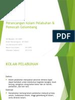 Kolam Pelabuhan & Pemecah Gelombang