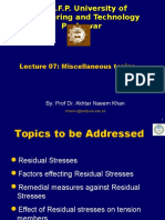 Lecture -07 Misc Topics