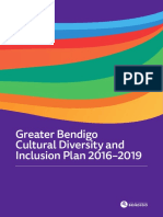 City of Greater Bendigo Cultural Diversity and Inclusion Plan Final Report