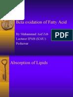 Beta Oxidation.pptx Asif
