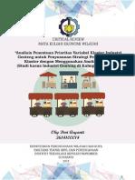 Resensi Jurnal Ekonomi Wilayah