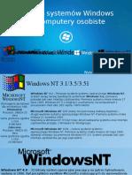 Historia Systemów Windows Na Komputery Osobiste