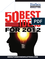Forbes Best Ideas for 2012