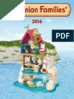 2016 Sylvanian Family Catalogue