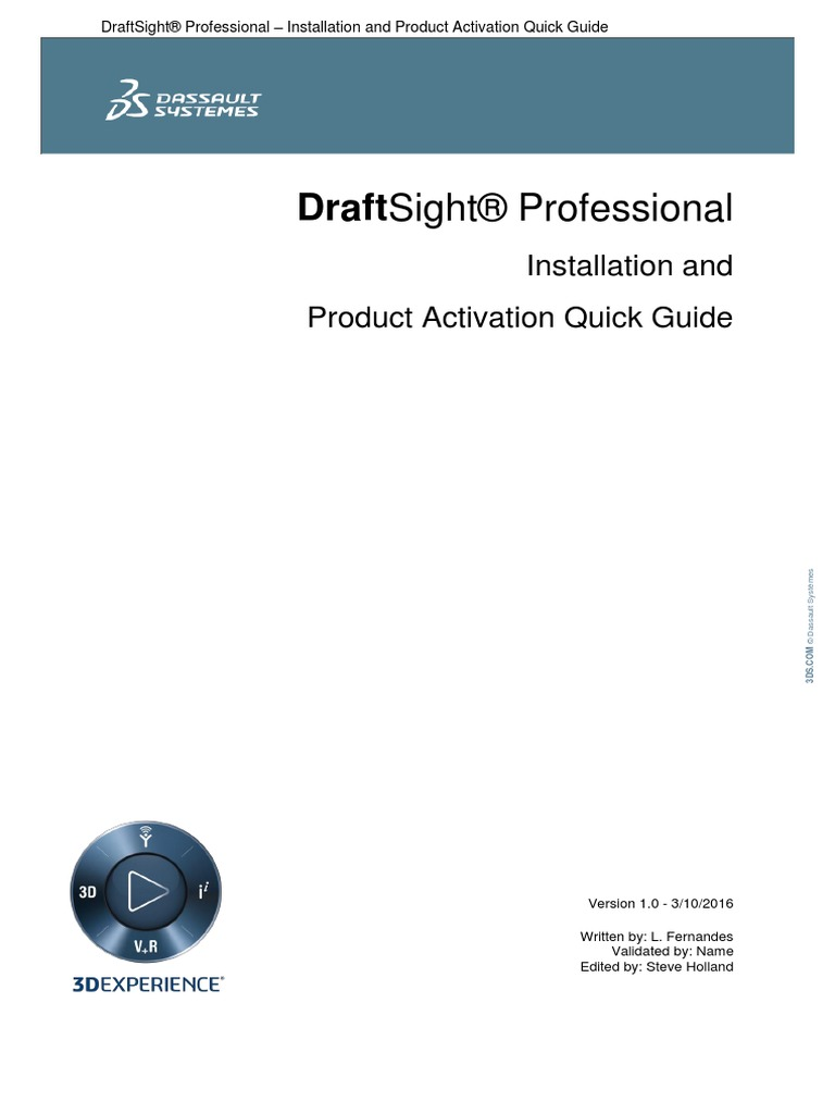 draftsight activation server not available