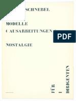 Dieter Schnebel - Nostalgie