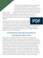 Notas Principales Problemas Del Liberalismo.