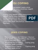 Definisi Coping
