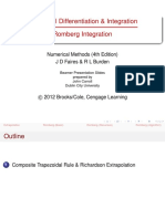 Lecture Notes 10-Romberg Integration 2
