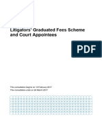 Litigators' Graduated Fees Scheme and Court Appointees