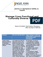 Manage Cross Culture