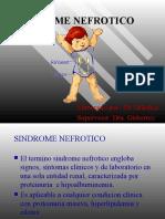 SINDROME NEFROTICO pediatria