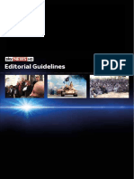 Sky News Editorial Guidelines