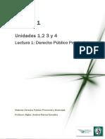 Derecho Provincial Unidades 1 y 2