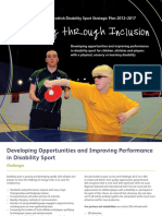 scottish disability sport strategic plan
