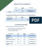 Directorio Profesores AA3 2017