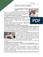Lección 1 Magisterio de La Iglesia y Los Sinodos Religió 3ero