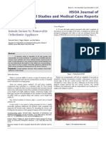 A Novel Approach to Intrude Incisor by Removable Orthodontic Appliance