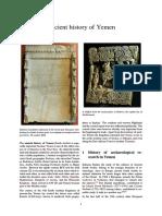 Yemen Ancient History of Yemen