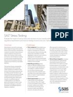 SAS Stress Testing(1)