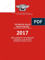 2017-2 Track Racing Technical Rules