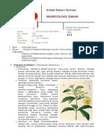 Artikel Botani Farmasi 1