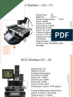 BGA Machines